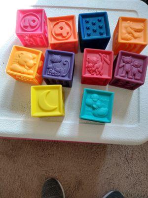 Walt Disney Mickey mouse fit blocks. Rubber blocks porch pick up for Sale in Derby, KS