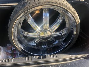 22 inch rims for Sale in Farmville, VA