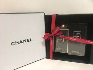 COCO NOIR BY CHANEL PERFUME FOR WOMEN SPRAY 2PC GIFT SET 3.4 OZ + 6.8 OZ B/L NEW IN BOX for Sale in Dallas, TX