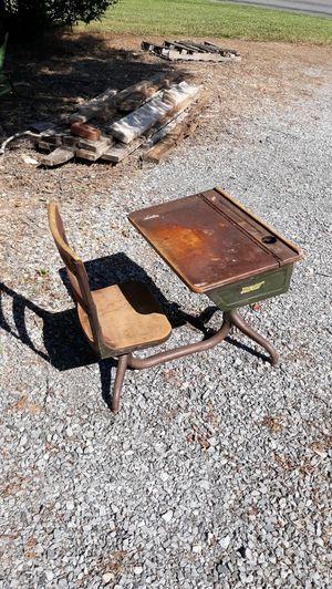 Antique small school desk for Sale in Montvale, VA