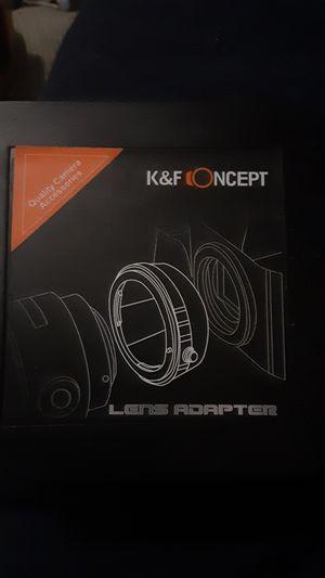 K&F Concept Lens Adapter for Sale in Norfolk, VA