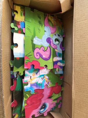 3D puzzles my little poney for Sale in Los Angeles, CA