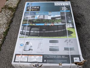 New 20ft X 48 inch Intex Ultra XTR Frame Pool for Sale in Laurel, MD