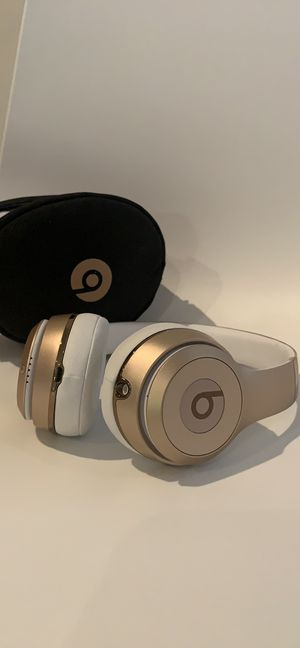 Beats by Dre Solo Wireless Gold Headphones for Sale in New York, NY