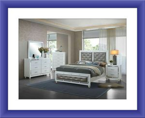 11pc Mackenzie bedroom set free mattress and delivery for Sale in Rockville, MD
