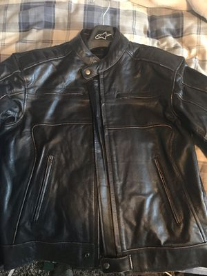 Xtreme gear motorcycle leather jacket for Sale in Santa Rosa, CA