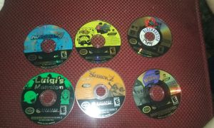 6 Nintendo Game Cube Games and official Gamecube Case for Sale in Santee, SC