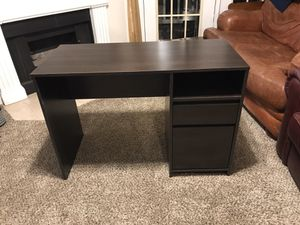 IKEA Dark Brown 2-drawer desk for Sale in Peachtree Corners, GA
