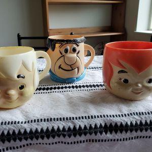 Vintage Flintstone Cups for Sale in Eugene, OR