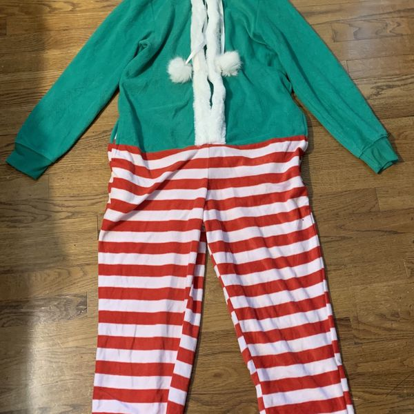 Elf Onesie / Christmas Outfit / Ugly Sweater