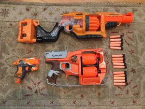 Nerf gun lot with Lawbringer, Flipfurry, and more for Sale in Los Angeles, CA