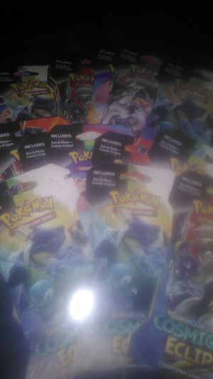 Cosmic Eclipse Pokemon Card Packs for Sale in Pleasant Hill, IA