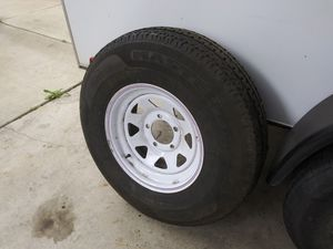 16 inch trailer tire and rim and brand new condition for Sale in Riverside, CA
