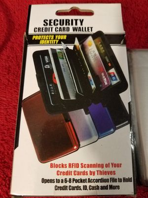 Security Credit Card Wallet for Sale in Toledo, OH