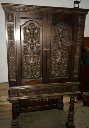 Gorgeous Antique Cabinet - PRICE REDUCED!! for Sale in Shaker Heights, OH
