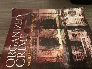 CRIMINAL JUSTICE books for college! (UTRGV) for Sale in Mercedes, TX