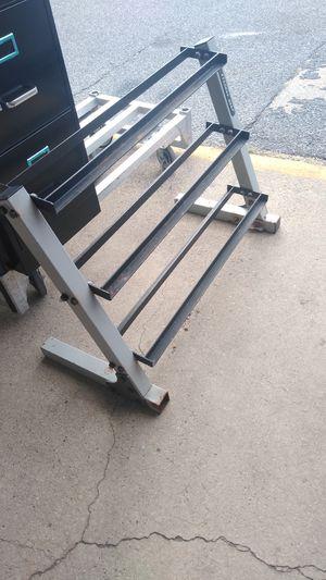 Three tier dumbbell rack for Sale in Philadelphia, PA