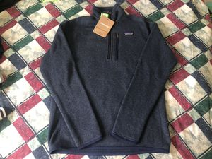 Brand New Men's Patagonia Better Sweat Navy Size SMALL for Sale in Seattle, WA
