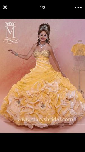 Beautiful Gorgeous Quinceanera Prom Ball Gown Dress for Sale in Hamtramck, MI