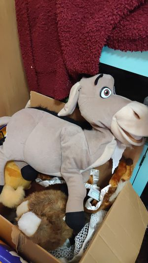 Creepy donkey plushie from shrek for Sale in Skyforest, CA