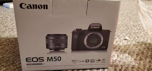 Canon M50 + Adapter Mount for Sale in Midlothian, IL