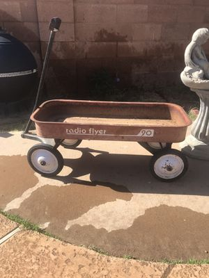 Old vintage RADIO flyer 90. wagon ! for Sale in Phoenix, AZ