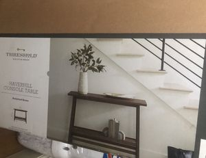 New in box console table for Sale in Selma, CA