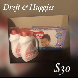 Dreft and Huggies for Sale in Austin, TX