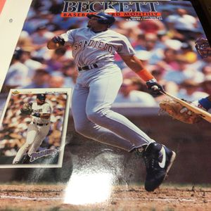 Baseball Card Monthly Beckett for Sale in Tacoma, WA