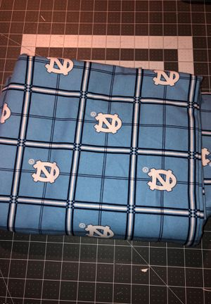 NC Tar Heels fabric for Sale in Fort Mill, SC