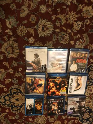 9 Blue Ray Movies for Sale in Conyers, GA