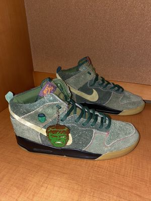 Nike SB Dunk High Premium SKUNK 420 Size 12 for Sale in Arlington, VA