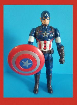 Marvel Avengers: Endgame Titan Hero Series Captain America. Talking Action Figure for Sale in Sanford, FL