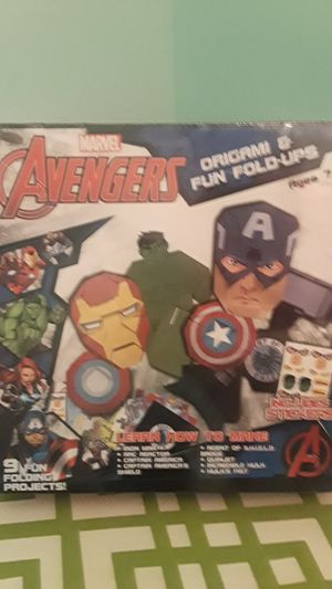 New! Avengers Origami & Fun Fold-ups! for Sale in UPPR MARLBORO, MD