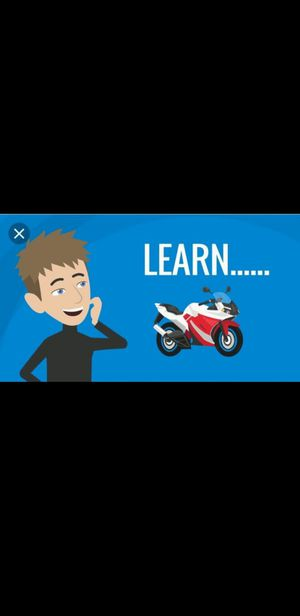 Learn to Ride a Motorcycle AND Get the License for Sale in Cliffside Park, NJ
