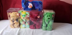 Set of 5 large TY Beanie Baby for Sale in Silver Spring, MD
