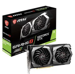 MSI - NVIDIA GeForce GTX 1650 SUPER 4GB GDDR6 PCI Express 3.0 Graphics Card - Black/Gray for Sale in Fountain Valley,  CA