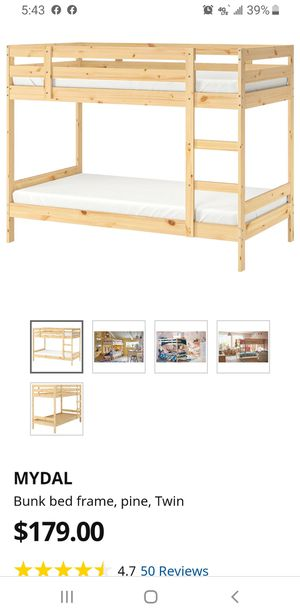 IKEA bunk bed for Sale in Los Angeles, CA