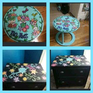 Hand painted furniture and decor for Sale in Osage, IA