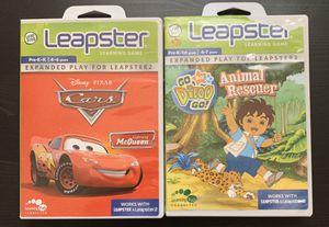 Leapfrog Leapster games PK-K for Sale in Eagle Lake, FL