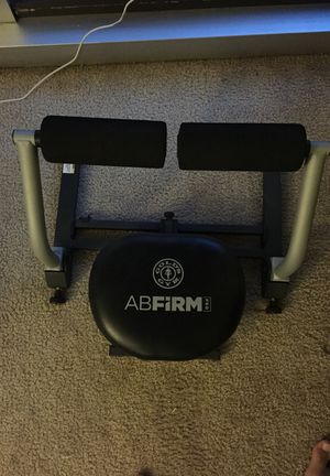 Manual abs and home exercise machine. for Sale in Brooklyn, IL