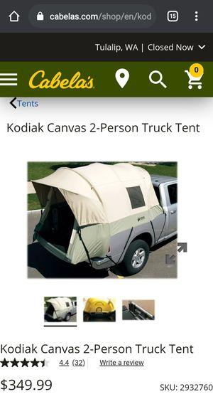 Kodiak canvas truck bed tent for Sale in Marysville, WA
