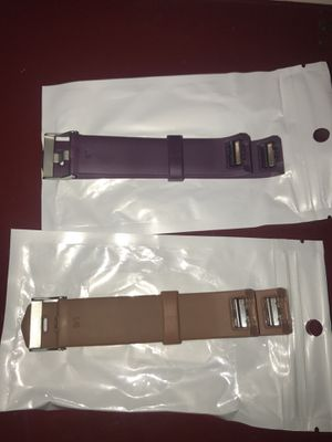 2 Fitbit bands for Sale in East Saint Louis, IL