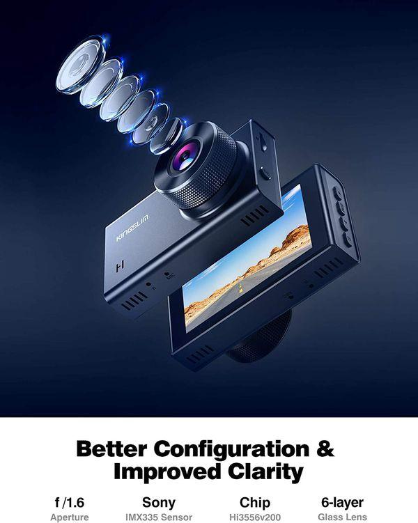 Brand new Kingslim dash cam 2.5K