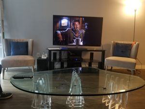 Tv stand and home theatre system for Sale in New York, NY