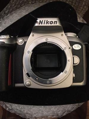 Vintage Nikon 35mm N75 camera... for Sale in Durham, NC
