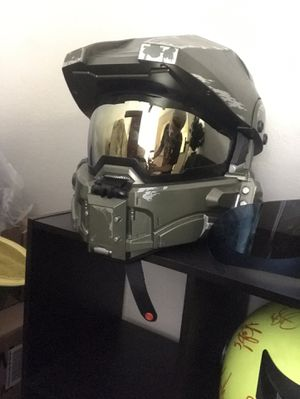 Master chief motorcycle helmet for Sale in Monroe, WA