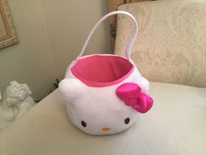 Hello kitty basket for Sale in Cape Coral, FL