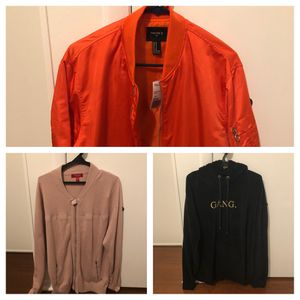 Men clothes jacket hoodie shirts over size for Sale in Plantation, FL