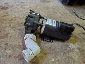 2 HP motor with a pump for a hot tub for Sale in Joliet, IL